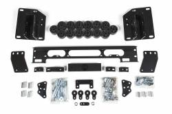"Body Lifts - Dodge - Zone Offroad 1.5"" Body Lift Kit 14-17 Ram 2500 | 13-15 Ram 3500 - D9152"
