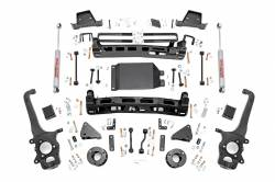 NISSAN - 2016-2017 Nissan Titan - Rough Country - ROUGH COUNTRY 6IN NISSAN SUSPENSION LIFT KIT (2017 TITAN 4WD) - 87820