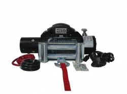 Winches & Recovery Gear - 8,000 to 16,000 lbs Electric Winches - Engo USA - ENGO SR9 9000 lb Winch W/ Cable Including Roller Fairlead  - 97-09000