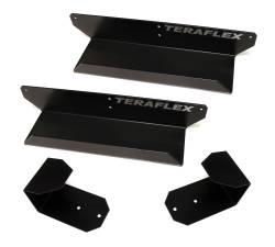 Exterior Upgrades - Jeep Wrangler JK 07-PRESENT - TeraFlex - Teraflex Freedom Top Holder & Full Hard Door Hanger Combo Kit - 1830702
