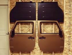 TeraFlex - Teraflex Freedom Top Holder & Full Hard Door Hanger Combo Kit - 1830702 - Image 3