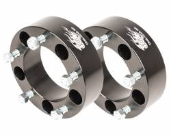 "Wheel Spacers & Adapters - Wheel & Tire Accessories - Trail-Gear Samurai Wheel Spacers, 5x5.5"" Aluminum *Choose Thickness* - 304038-3-KIT"