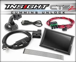 Tuners & Programmers - Edge - Edge INSIGHT CTS2 WITH UNLOCK CABLE 2013-2017 RAM CUMMINS - 84132