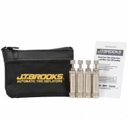 Wheel Spacers & Adapters - Wheel & Tire Accessories - J.T. Brooks Automatic Tire Deflators - J.T. BROOKS AUTOMATIC TIRE DEFLATORS - Set of 4