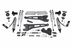 """F250 / F350 - 2017-2019 - BDS Suspension - BDS Suspension 4"""" Coil-Over Radius Arm Suspension System 