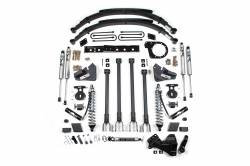 """F250 / F350 - 2017-2019 - BDS Suspension - BDS Suspension 6"""" 4-Link Arm Coil-Over Suspension System 