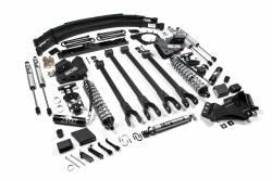 "BDS Suspension - BDS Suspension 6"" 4-Link Arm Coil-Over Suspension System | 2017-2019 Ford F250/F350 4WD Diesel Only - 1527F - Image 2"