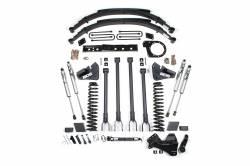 "F250 / F350 - 2017-2019 - BDS Suspension - BDS Suspension 6"" 4-Link Arm Suspension System | 2017-2019 Ford F250/F350 4WD Diesel Only - 1527H"
