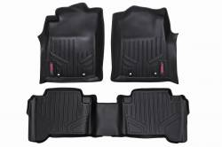 Rough Country - Floor Mats & Cargo Liners - Rough Country - Rough Country HEAVY DUTY FLOOR MATS [FRONT/REAR] - (07-11 TOYOTA TUNDRA DOUBLE CAB) - M-70713