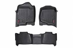 Rough Country - Floor Mats & Cargo Liners - Rough Country - Rough Country HEAVY DUTY FLOOR MATS [FRONT/REAR] - (07-13 CHEVROLET TAHOE) - M-20715