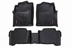 Rough Country - Floor Mats & Cargo Liners - Rough Country - Rough Country HEAVY DUTY FLOOR MATS [FRONT/REAR] - (12-15 TOYOTA TACOMA DOUBLE CAB) - M-71213