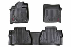 Rough Country - Floor Mats & Cargo Liners - Rough Country - Rough Country HEAVY DUTY FLOOR MATS [FRONT/REAR] - (14-18 TOYOTA TUNDRA) - M-71413
