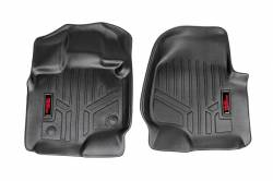 Rough Country - Floor Mats & Cargo Liners - Rough Country - Rough Country HEAVY DUTY FLOOR MATS [FRONT] - (15-17 FORD F-150) - M-5151