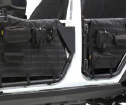 Smittybilt - Smittybilt SRC GEN 2 TUBE DOORS - Front for Jeep Wrangler JK 2/4 Door- 76794 - Image 5
