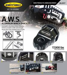 Smittybilt - Smittybilt A.W.S. Aluminum Winch Shackle - 17,000 lbs MAX LOAD RATING - Image 11