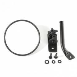 Exterior Body & Styling - Jeep Wrangler TJ / LJ 97-06 - STUBBY TRAIL MIRROR, ROUND, TEXTURED BLACK; 97-17 JEEP WRANGLER TJ / JK - 11025.19