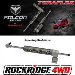 "Steering Upgrades - Jeep Wrangler JK 07-Present - Falcon Shocks - Teraflex Falcon Nexus EF 2.1 Stabilizer (1-5/8"" Tie Rod) for JEEP WRANGLER JK - 01-02-21-110-158"