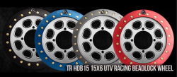 TrailReady Beadlocks - Trail Ready HDB15, 15x6 UTV Racing Beadlock Wheel *USA MADE*