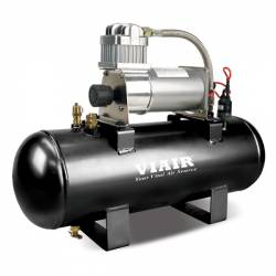 VIAIR - VIAIR 2.0 Gal. Tank Air Source Kit High Flow - 150PSI (12V, 150 PSI Compressor) - 20005