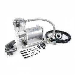On Board Air & Co2 - Compressor Kits - VIAIR - VIAIR 325C Chrome Compressor Kit (12V, 33% Duty, Sealed)- 32533