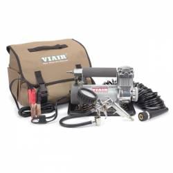 On Board Air & Co2 - Portable Compressor Kits - VIAIR - Viair 400P-Automatic Portable Compressor Kit (12V, CE, 33% Duty, 40 Min. @ 30 PSI) - 40045