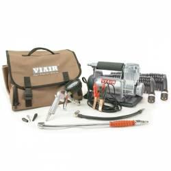 On Board Air & Co2 - Portable Compressor Kits - VIAIR - Viair 400P-RV Automatic Portable Compressor Kit (12V, CE, 33% Duty, 40 Min. @ 30 PSI) - 40047