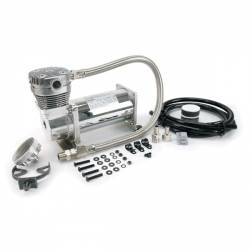 "VIAIR 420C Chrome Compressor Kit, 3/8"" Port (12V, CE, 33% Duty, Sealed) - 42042"