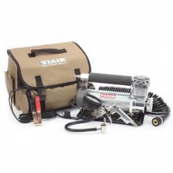 On Board Air & Co2 - Portable Compressor Kits - VIAIR - Viair 450P-Automatic Portable Compressor Kit (12V, CE, 100% Duty, 150 PSI) - 45043