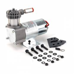 On Board Air & Co2 - Compressor Kits - VIAIR - VIAIR 95C Compressor Kit w/ Omega Style Mounting Bracket (12V, CE, 9% Duty, Sealed) - 00095