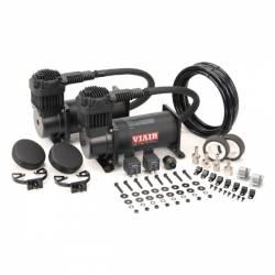 VIAIR - VIAIR Dual 400C Value Pack (150 PSI, 400C/2, 110/145 P. Switch, 40 Amp Relay/2, CE) *Choose Color*- 40013-40048 - Image 2