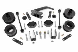 Wrangler - JK 07-18 - Rough Country - Rough Country 2.5IN JEEP SERIES II SUSPENSION LIFT KIT (07-18 JK WRANGLER) *Select Shock Option* - 635-65730