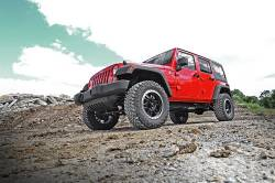 Rough Country - Rough Country 2.5IN JEEP SERIES II SUSPENSION LIFT KIT (07-18 JK WRANGLER) *Select Shock Option* - 635-65730 - Image 3