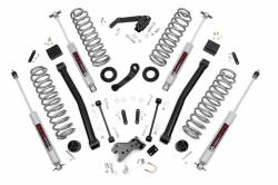 """Jeep JK Wrangler 07+ - Rough Country - Rough Country - Rough Country 2007 - 2018 Jeep JK Wrangler 3.5"""" Suspension Lift Kit *Choose Model* - 60830-60930"""