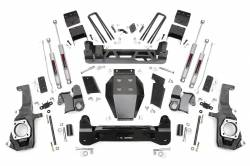 CHEVY / GMC - 2011-17 Chevy / GMC 1 Ton Pickup - Rough Country - Rough Country 7.5IN GM NTD SUSPENSION LIFT KIT (11-17 2500HD/3500HD) - 253X