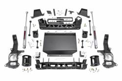 NISSAN - 2016-2017 Nissan Titan - Rough Country - Rough Country 6IN SUSPENSION LIFT KIT for 16-17 NISSAN TITAN XD 4WD - 87730