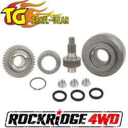 Transfer Cases & Accessories - Transfercase Bearing Overhaul Kits - TRAIL-GEAR - Trail Gear Suzuki Jimny Transfer Case Gear Set, Chain Drive, Manual (Full Gear Set) - 304087-3-KIT