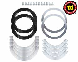 Ball Joints & Knuckle Service Kits - Toyota Knuckle Service Kits - TRAIL-GEAR - Trail Gear Trail Safe FJ80 Knuckle Ball Wiper Seals - 303682-1-KIT