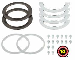 Differential & Axle - Ball Joints & Knuckle Service Kits - Trail Gear Trail-Safe 98-17 Jimny Knuckle Ball Wiper Seals - 304921-3-KIT