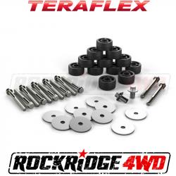 "Jeep JK Wrangler 07-18 - TeraFlex - TeraFlex - Teraflex JK 1.25"" BODY LIFT KIT - 4152100"