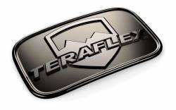 Exterior Upgrades - Jeep Wrangler JK 07-PRESENT - TERAFLEX JK LICENSE PLATE DELETE BADGE - 4798000