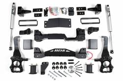 "4WD - 2015-2016 - BDS Suspension - BDS Suspension 6"" Suspension Lift Kit System for 2015-20 Ford F150 4WD pickup trucks - 1532H"