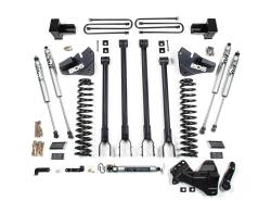 """F250 / F350 - 2017-2019 - BDS Suspension - BDS 4"""" 4-Link Arm Suspension System 