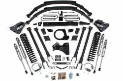 """F250 / F350 - 2017-2019 - BDS Suspension - BDS 8"""" 4-Link Arm Suspension System 