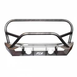 "Jeep Wrangler JK 07-18 - Front Bumpers & Stingers - MOTOBILT JEEP JK ""THE HAMMER"" BUMPER WITH STINGER / GRILL HOOP - MB1025-L"
