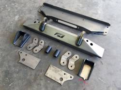 Jeep Wrangler YJ 87-95 - Front Bumpers & Stingers - Motobilt JEEP YJ FULL WIDTH AXLE CONVERSION KIT - MB1502