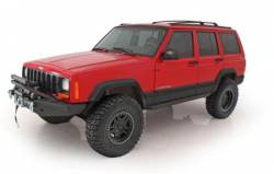 Smittybilt - Armor - Smittybilt - Smittybilt XRC Rock Sliders For 84-01 Cherokee XJ 2 or 4 Door - Textured Black Powdercoat