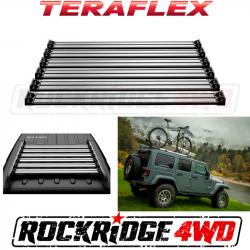 Jeep Tops & Hardware - Jeep Wrangler JK 4 Door 07+ - Teraflex JK Nebo Roof Rack Cargo Slat Kit - Silver - 4722050
