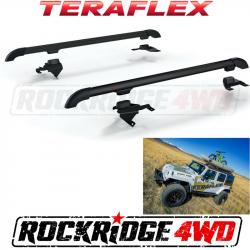 Jeep Tops & Hardware - Jeep Wrangler JK 4 Door 07+ - Teraflex JK Nebo Roof Rack - Black - 4722010