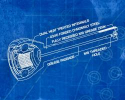 TRAIL-GEAR - TRAIL-GEAR Longfield 30-Spline Gun Drilled Super Set Toyota Pickup, 4Runner - 301688-1-KIT - Image 4