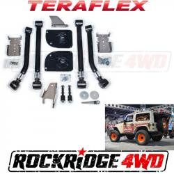 "TeraFlex - Miscellaneous - Teraflex JK / JKU 2"" Rear Stretch Kit - 1257100"